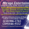Mirage Entertainment DJ & MC Service